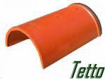 Полимерпесачная черепица Tetto коньковая